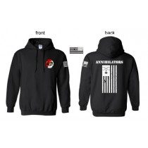 2-17 Annihilators Deployment 2017  Hooded Sweat Shirt