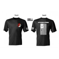 2-17 Annihilators Deployment 2017 Moisture Wicking Tees