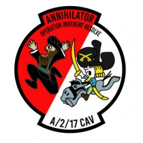 2-17 Annihilators DECAL