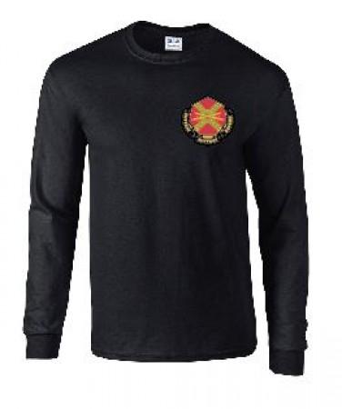 HHC Garrison USAG Long Sleeve Tee Shirt