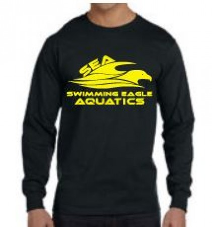 SEA Fort Campbell Swimming Eagles Long Sleeve Tees