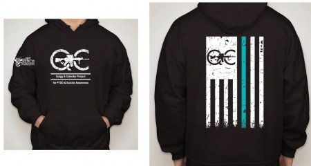2019 PTSD Quigg and Callender Project Hoodie