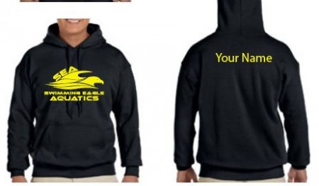 SEA Fort Campbell Swimming Eagles Hooded Sweatshirt