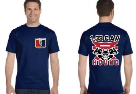 2-506th Hound Co.  Short Sleeve Moisture Wicking Tee
