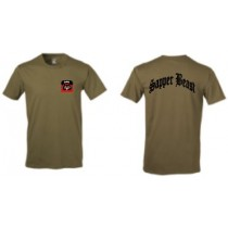 39th Alpha Co BEB Coyote Brown Soffe Short Sleeve Tee