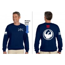 1-187 Dragons Crew Sweat Shirt Gildan