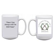 US Army  Drill Team Association  Mug (Wht)