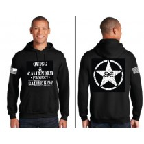 Quigg and Calendar Project Star Design Hooded Sweatshirt