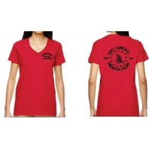 American Legion Post 233  Ladies V Neck Tees