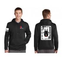 Jackals Sport Tek NAVY Fleece Hooded Sweatshirt