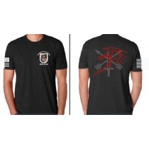 5th Special Forces ODA 5334 Next Level Short Sleeve Tees