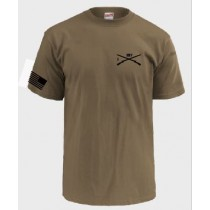1-187 PT Tan Short Sleeve Shirts