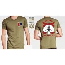 Dog Company Soffee Tan Shirts