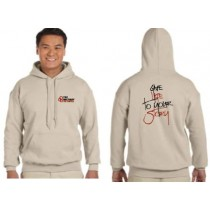 YFC Hooded Sweatshirt Sand Give Life To your Story