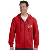 Clarksville Tennis Association Full Zipper Hoodie